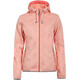 Icepeak Lida Midlayer Hoodie Women dark orange